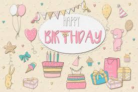 birthday girl happy birthday girl by clipick design bundles
