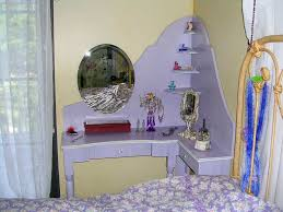 designing the stylish corner vanity table home design by john