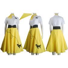 hip hop fashion poodle skirt halloween costume dance singing