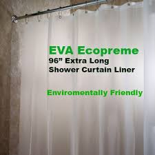 Extra Long Clear Shower Curtain 10 Best Extra Long Shower Curtain Images On Pinterest Bathroom
