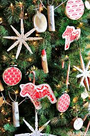 the scandinavian tree ornaments