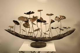 home craft ideas modern office design metal sculpture hotel