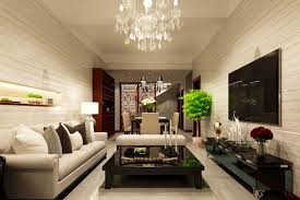living room and dining room space interior design ideas of
