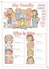 family missing letters worksheet places to visit pinterest