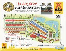 map ok ky rv cgrounds bowling green kentucky cground koa and map ok ky rv cgrounds
