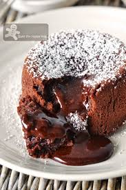 bake for happy kids molten lava cakes paula deen