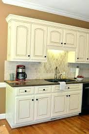 white glazed kitchen cabinets off white glazed kitchen cabinets french vanilla glaze kitchen