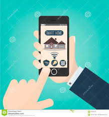 House Technology by Smart Home Technology Concept Stock Vector Image 41638581