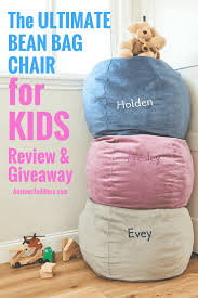 Toddler Bean Bag Chairs The Ultimate Children U0027s Bean Bag Chair For Kids Review U0026 Giveaway
