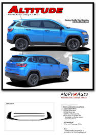 jeep cherokee decal altitude jeep compass vinyl graphics decal stripe upper body