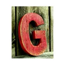 shop painted wood wall letters on wanelo
