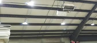 high bay led shop lights 100w led replace 250w metal halides in shop in surry uk mosun