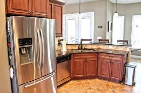 Birch Kitchen Cabinets Furniture Awesome Birch Kitchen Cabinets With Metallic Color