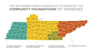 Middle Tn Map Who We Serve The Community Foundation Of Middle Tennessee