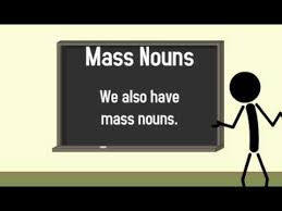 count and mass nouns youtube