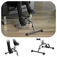 portable exercise bike pedal cycle office foot workout cardio
