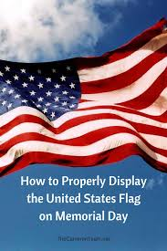 Distress Flag Upside Down How To Properly Display The United States Flag On Memorial Day