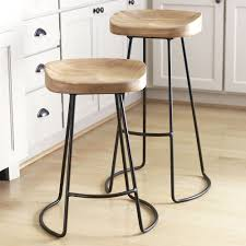 Wooden Bar Stool With Back Furniture Astonishing Furniture Vintage Industrial Wood And