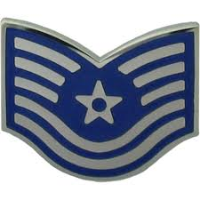 Flag Rank Air Force Tsgt Metal Pin On Rank Enlisted Metal Pin On Rank