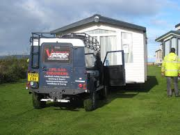 siting services for caravans and holiday homes