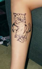 owl tattoo simple owl tattoo by through your eyes on deviantart