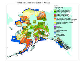 Bethel Alaska Map by Alaska Land Cover Data Sets