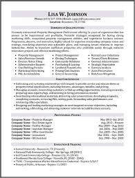 Manager Resumes Examples by Assistant Property Manager Resume Sample Jennywashere Com