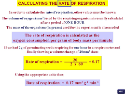 How To Calculate The Needed The Respiratory Quotient Rq Ppt Online Download