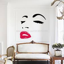 aliexpress com buy selling marilyn monroe quotes red lips