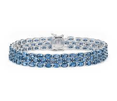 blue topaz bracelet white gold images White gold bracelets sterling silver bracelet blue topaz