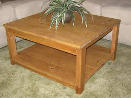 not until diy plans to make square wooden coffee table by