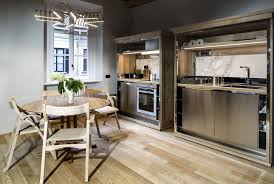 modern apartment kitchen welcoming modern apartment in an old milan building idesignarch
