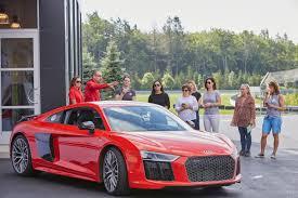 Audi R8 Red - 2017 audi r8 v10 plus making music at monticello motor club u2013 be