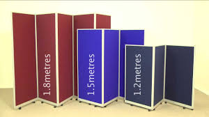 mobile folding room dividers portable partitions from go
