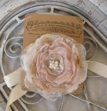 Wedding Wrist Corsage Burlap Wedding Wrist Corsage Bridal Corsage Fabric Corsage