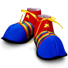 amazon com jumbo clown shoes costumes u0026 accessories u0026 props