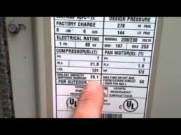 checking wire size ac units 2 youtube