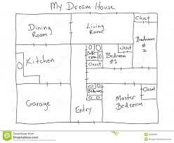 my dream house plans house plan my dream house royalty free stock images image 29946059