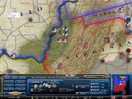 I Am America Map by Civil War Generals Rating Workshop Armchair General And
