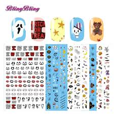 halloween nail art decals image collections nail art designs