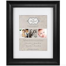 11x14 photo albums black archival matted wood frame 11x14 8x10 by mcs picture