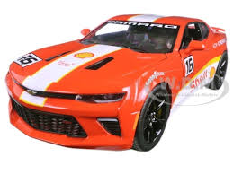 model camaro chevrolet camaro ss shell racing 1 24 diecast model car