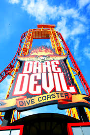 Distance From Diver Down Flag Dare Devil Dive Six Flags Over Georgia