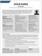 Human Resource Manager Resume Sample by Human Resources Manager Resume Samples Visualcv Resume Samples Hr