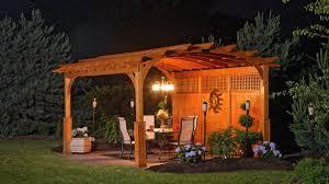 vinyl u0026 wooden pergolas amish built pergola md nj