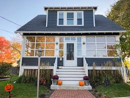 before and after exterior paint makeovers maine homes by down east