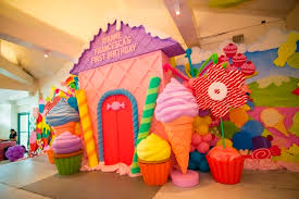 candyland theme rianne s candyland themed party 1st birthday party doll manila