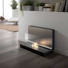 decorating enchanting interior home design with ethanol fireplace
