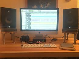 Studio Monitors On Desk by Ikea Hack 15 Minute Desktop Speaker Stands 6 Steps With Pictures