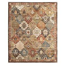 home decorators collection patchwork medallion multi 5 ft x 7 ft